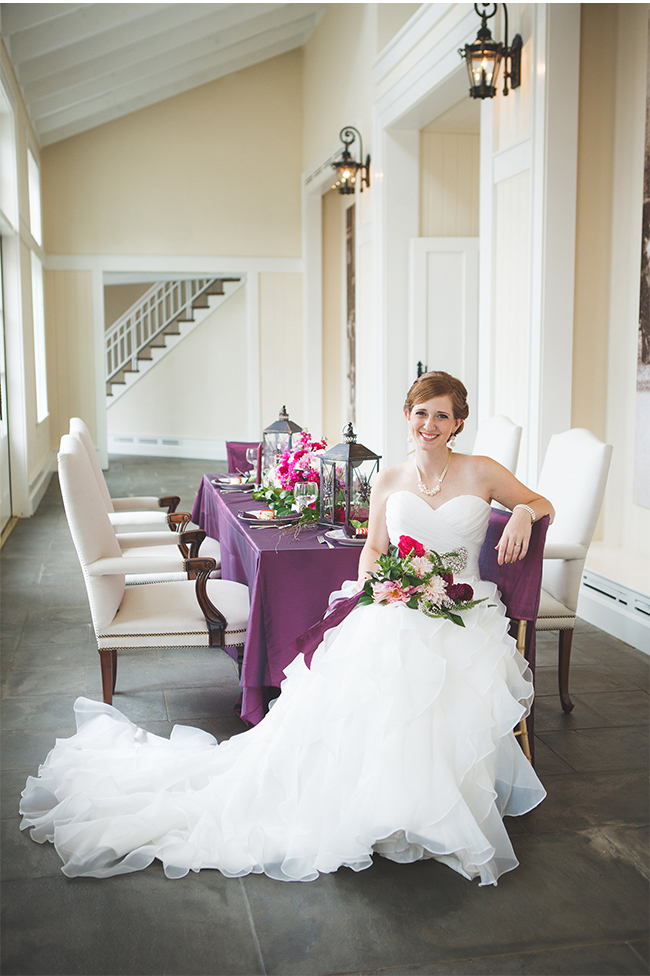 radiant orchid luxury wedding inspiration at trump winery
