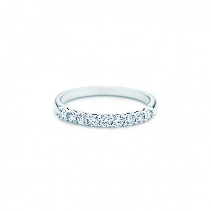 Platinum wedding band from Tiffany & Co.