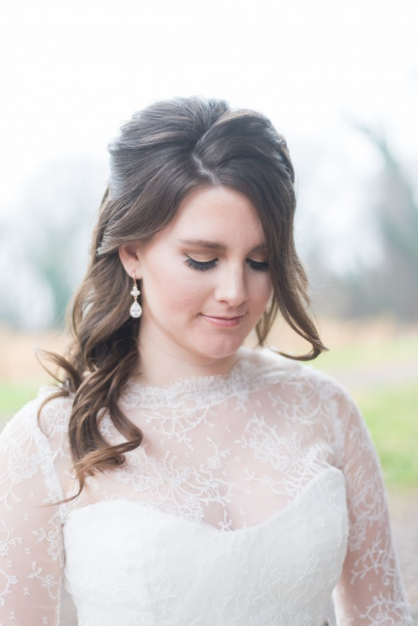 Navy blue gold rose gold Washington D.C. wedding inspiration editorial styled shoot couture bridal jewelry druzy pearl crystal by j'adorn designs Maryland DC Virginia custom jeweler bridal accessories Red October Photography Simply Breathe Events