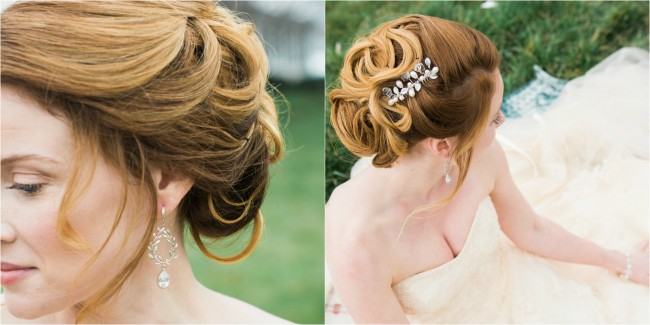 Best brdial accessories for every wedding hairstyle, by J'Adorn Designs