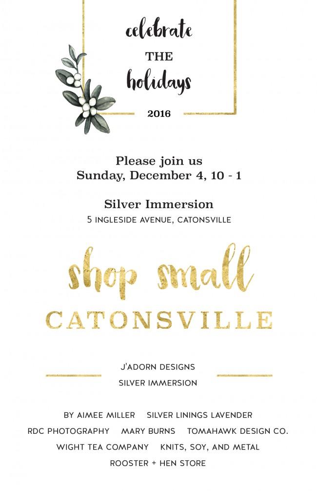 celebratetheholidays_shopsmallcatonsville