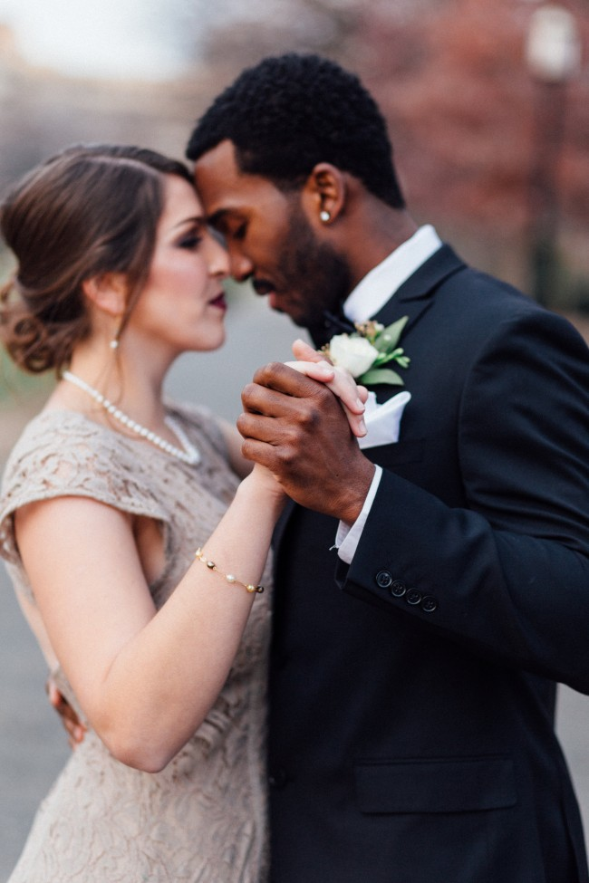 How Sweet It Is To Be Loved By You Interracial Romantic Wedding Inspiration