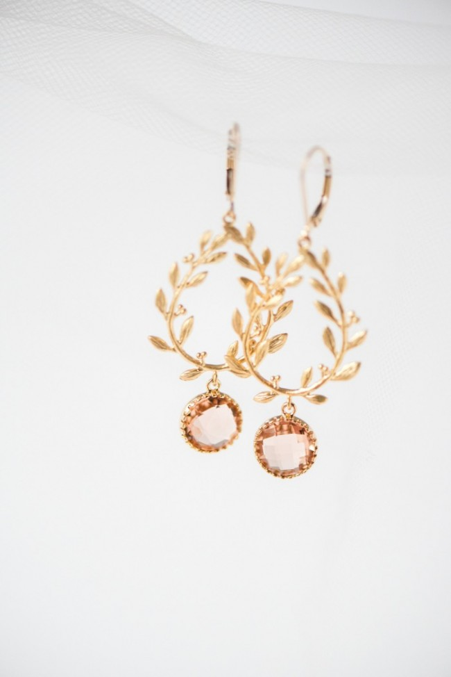 Gold-Blush-Laurel-Bridal-Earrings-Boho-Wedding-Jewelry-J'Adorn-Designs