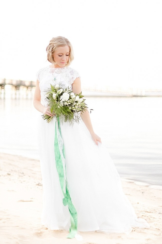 Coastal Wedding Jewelry Elegant Bridal Style Inspiration JAdorn Designs