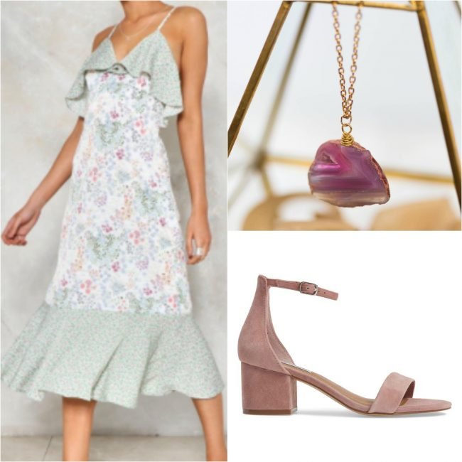 Honeymoon outfit inspiration for tropical vacation by Lipstick & Chiffon, for J'Adorn Designs custom jewelry