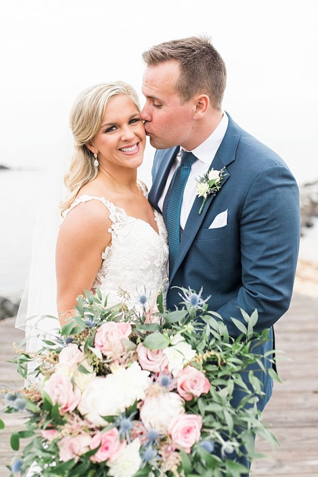 Custom Rose Gold Jewelry Baltimore Elopement by J'Adorn Designs Bridal Jewelry