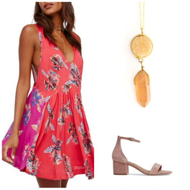 Tropical Honeymoon Casual Beach Outfit Inspiration with jewelry by J'Adorn Designs Maryland jeweler