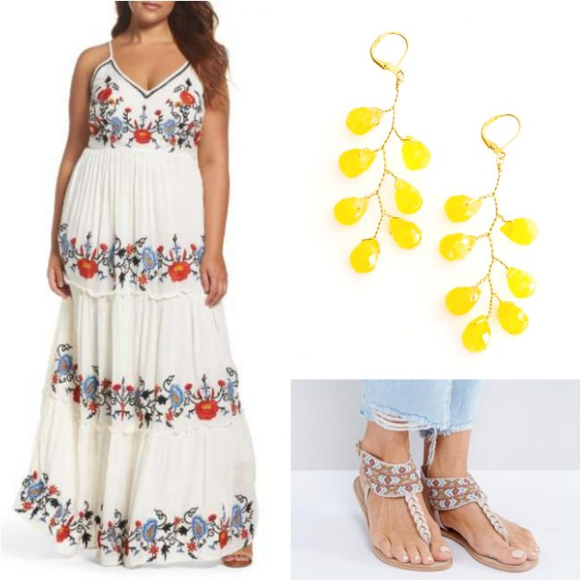 Tropical honeymoon packing tips and outfit inspiration with jewelry from J'Adorn Designs custom jeweler