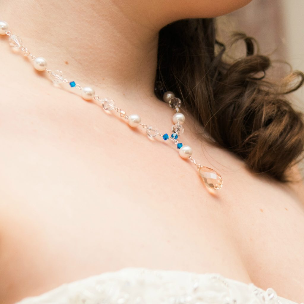 Custom jewelry and bridal accessories by J'Adorn Designs Baltimore jeweler
