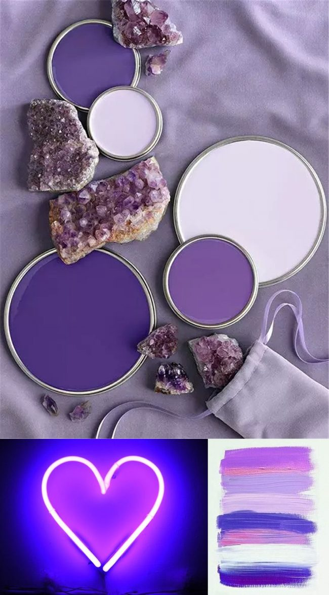 Pantone Ultraviolet outfit inspo, 2018 Fashion Inspiration, three ways to wear purple, fashion advice by J'Adorn Designs custom jeweler