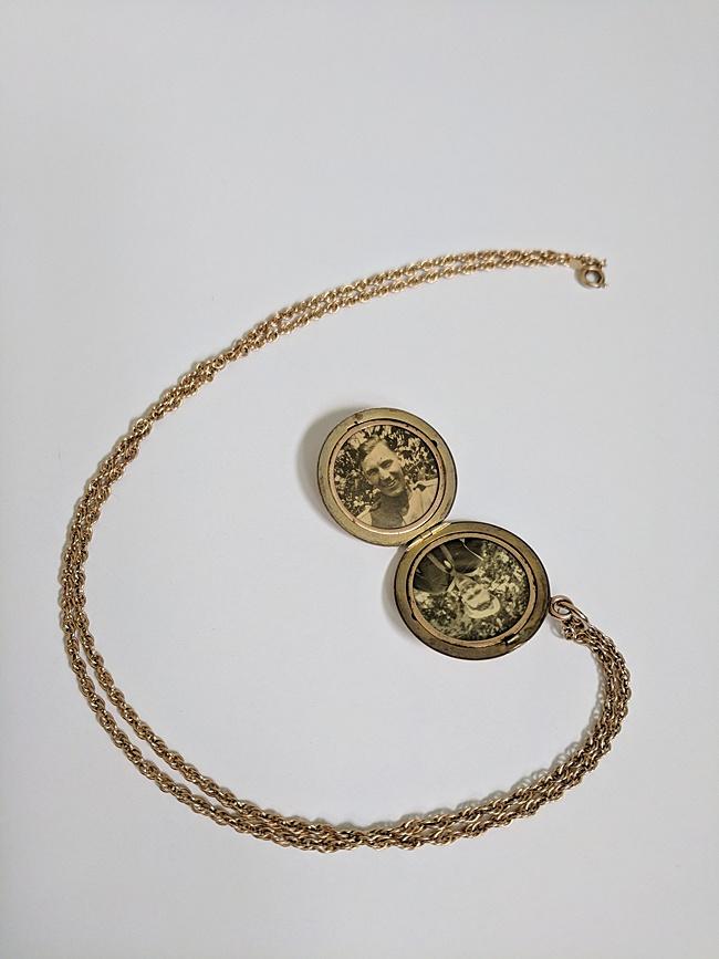 Heirloom locket redesign monogram family locket heirloom custom jeweler jadorn designs