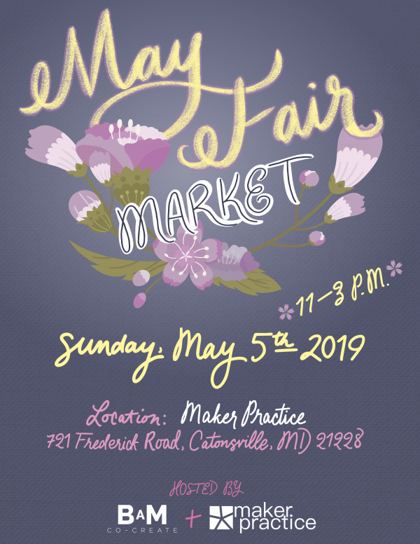 J'Adorn Designs artisan jewelry is coming to MayFair Maker's Market in Catonsville Maryland for a craft show, Spring jewelry pop-up shop featuring artists from Baltimore