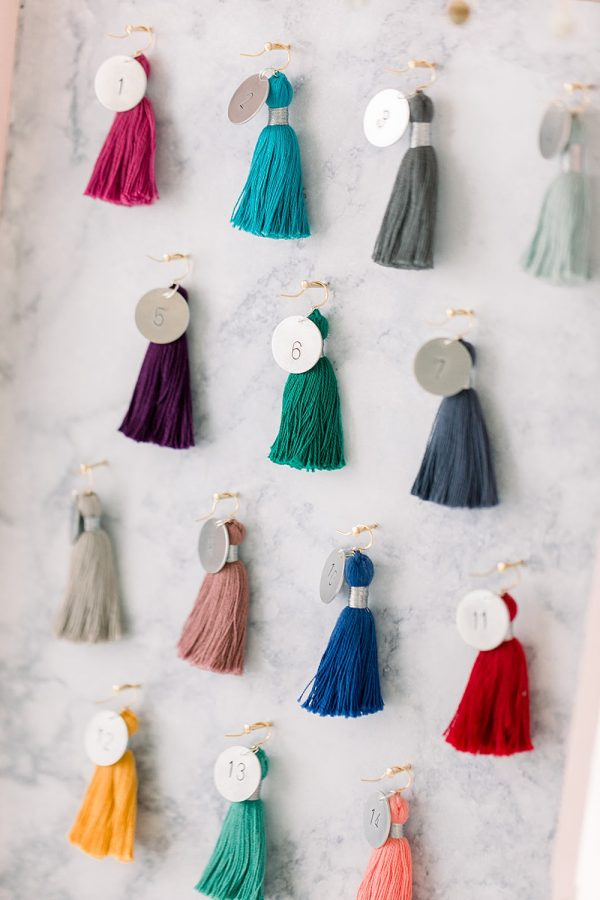 MayFair Market craft show features spring tassel jewelry and custom design your own tassel earrings by J'Adorn Designs in Catonsville, Maryland