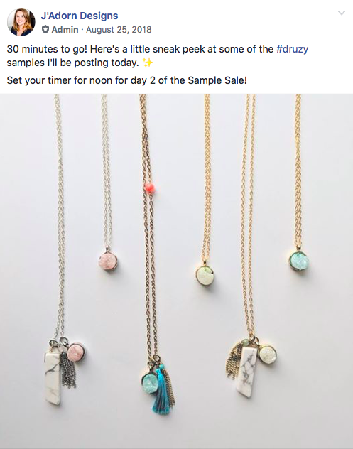 druzy teaser screen grab 2018 jadorn designs custom jewelry