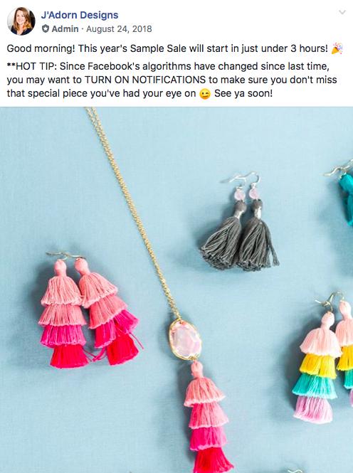 tassel teaser image from 2018 sample sale jadorn designs custom jewelry