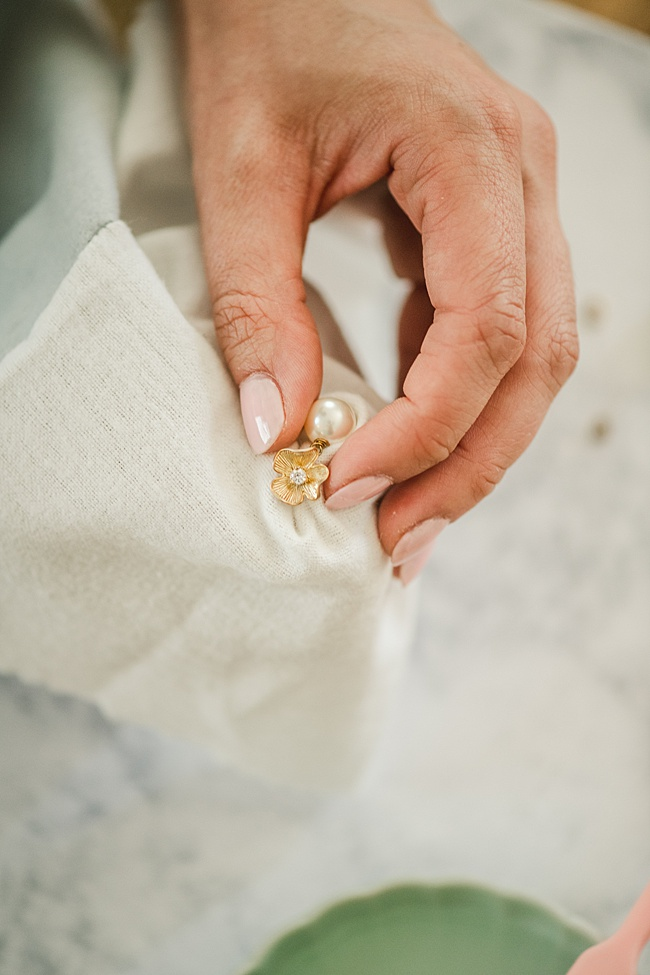 How to clean jewelry at home: Easy jewelry cleaning instructions using ingredients you already have at home! Jewelry care tips by J'Adorn Designs, custom jewelry and bridal accessories.